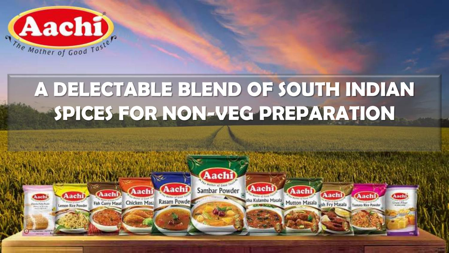 Aachi Products